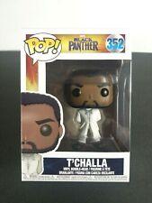 Funko Pop PANTERA nera T /'Challa con BIANCO ROBE Figura in vinile #352