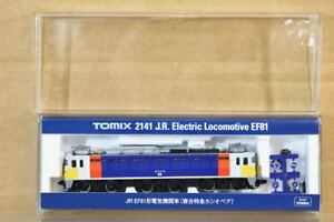 Tomix 2141 Échelle N Jr Junior Classe Ef681 Électrique Locomotive