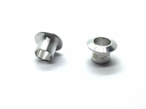 """2pcs Aluminum Water Inlet ⌀7mm 1//4/"""" for RC Boat Ship TH038-05503"""