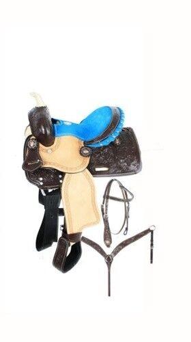 10 Double T  Pony saddle set.