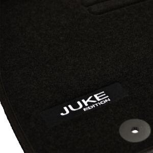 4 tapis sol nissan juke 2010 2015 1 5 visia nismo moquette logo specifique ebay. Black Bedroom Furniture Sets. Home Design Ideas