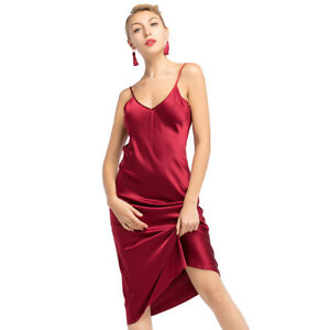 2fb05a460d Image is loading LilySilk-Sexy-19MM-Silk-Cami-Dress-for-Women