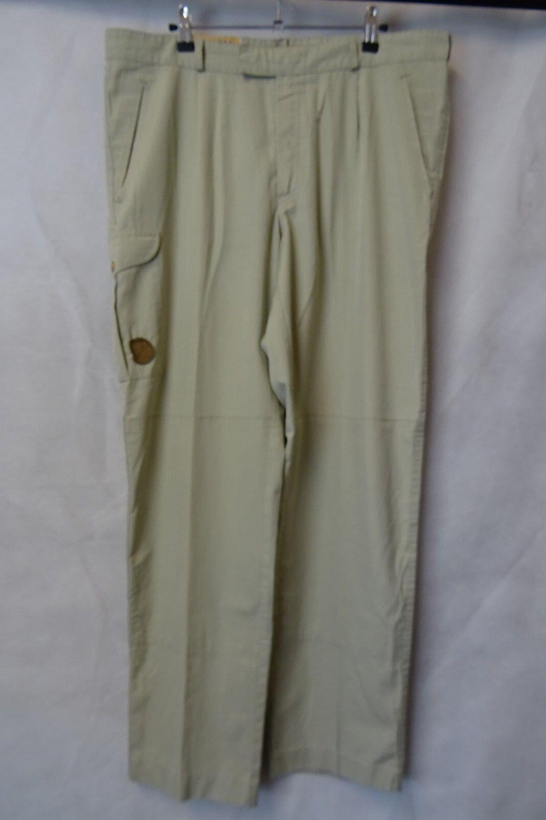 Uomo Fjallraven Outdoor Pantaloni Caccia Da Combattimento Taglia W38 L32 AA2499