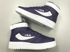 f34997b7f2c2 Brand New FILA FX-100 retro Purple White Red High Top men shoes vtg ...