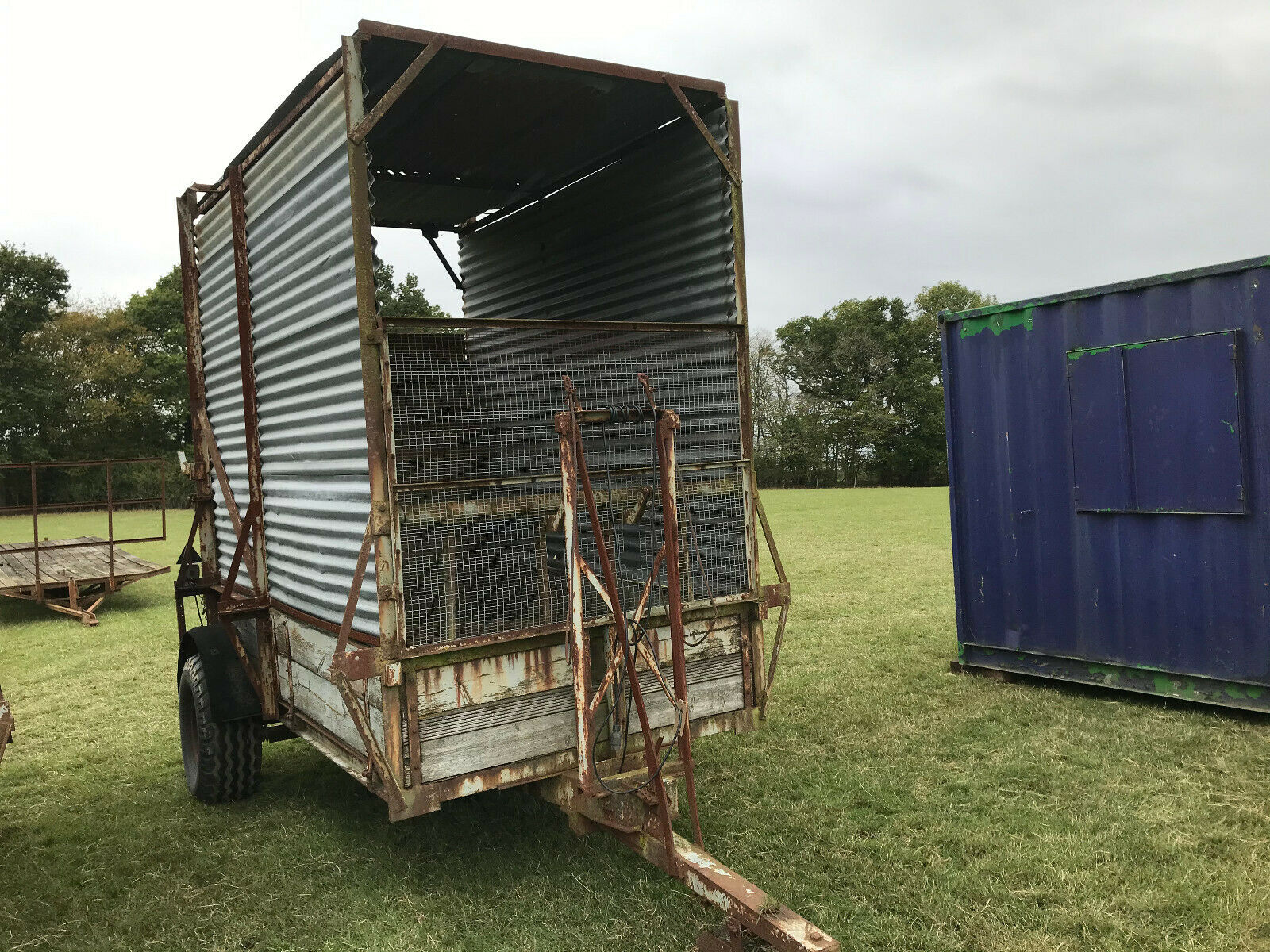 Farm Livestock Trailer plus vat