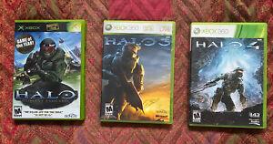Xbox-360-Halo-Game-Lot