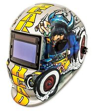 Titan 41290 Solar Powered Auto Dark Welding Helmet - Gear Head