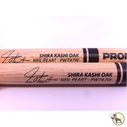 Pro-Mark PW747W Shira Kashi Oak Neil Peart Wood Tip Drumsticks ProMark PAIR