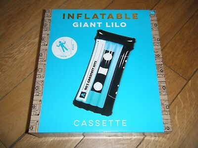 Floats & Rafts *primark* Giant Inflatable Retro Cassette Swimming Pool Lilo Toy Bnib Holiday