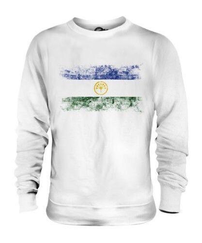 Bashkortostan en Bandera Apenada Unisex Suéter Regalo de Fútbol Camiseta Ropa