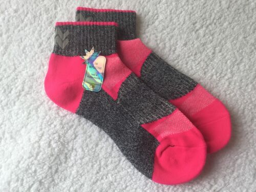 LADIES HI QUALITY BREATHABLE REFLECTIVE CUSHION ARCH SUPPORT SPORT SOCKS