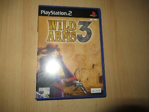 WILD-ARMS-3-PLAYSTATION-2-PS2-BUEN-COLECCIONISTAS-Version-Pal