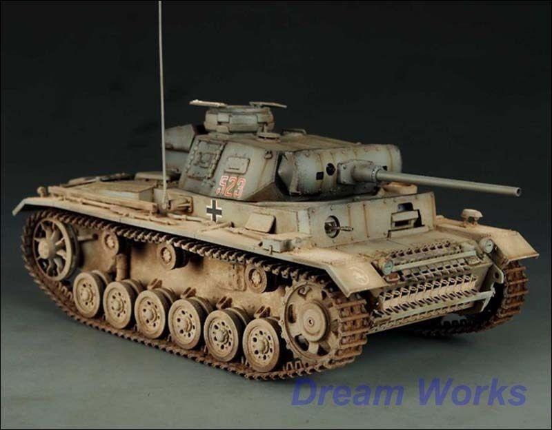 Award Winner Built Dragon 1 35 Panzerkampfwagen Panzer III Ausf. J +PE