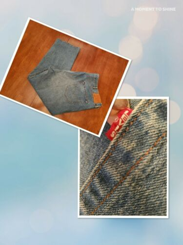 Levi's 501 Premium Button Fly Jeans 50x31 Big E Wa