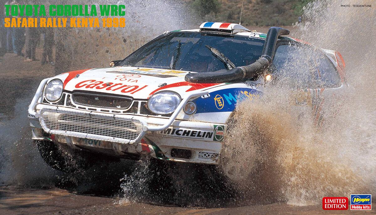 negozio fa acquisti e vendite Hasegawa 1 24 giocattoloota Corolla WRC WRC WRC Rtuttiy Safari Kenia 1998  20371  ci sono più marche di prodotti di alta qualità