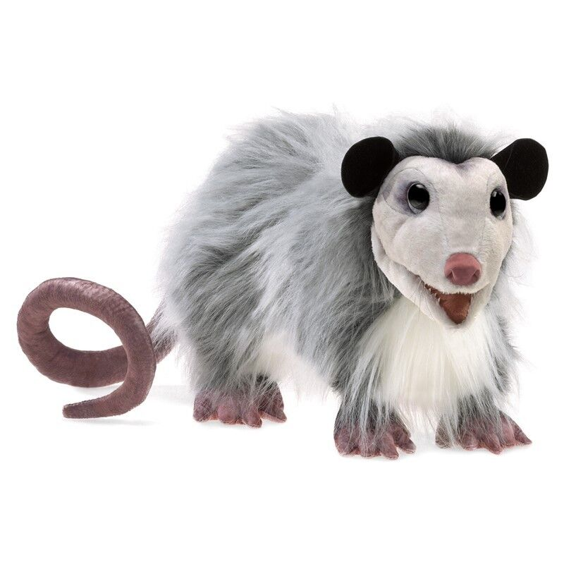 OPOSSUM Puppet 3119 New for 2018 USA  Folkmanis Puppets
