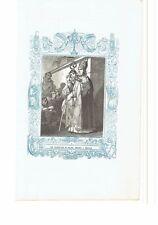 1852 Grabado, San Francisco de Sales Obispo y Martir Francesco