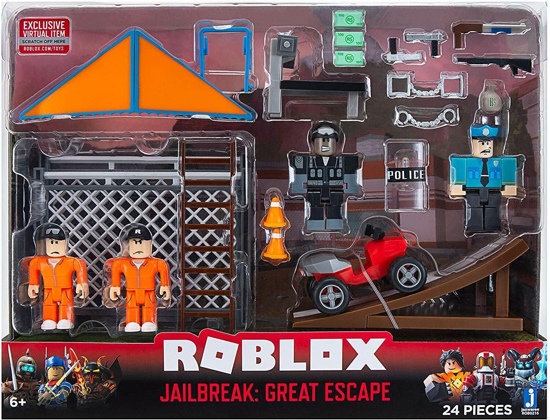 Roblox Jailbreak Great Escape Large Playset For Sale Online Ebay