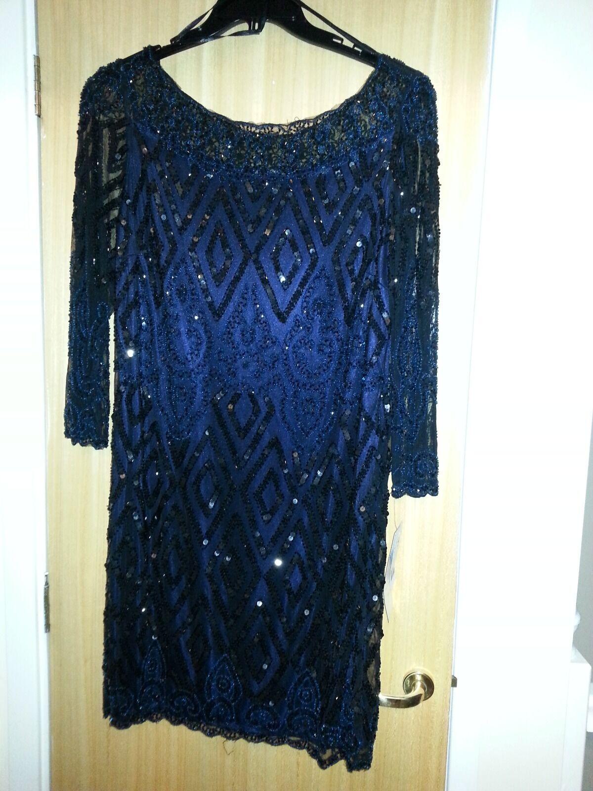 TK Maxx Ladies Sequin Dress Größe 16 BNWT