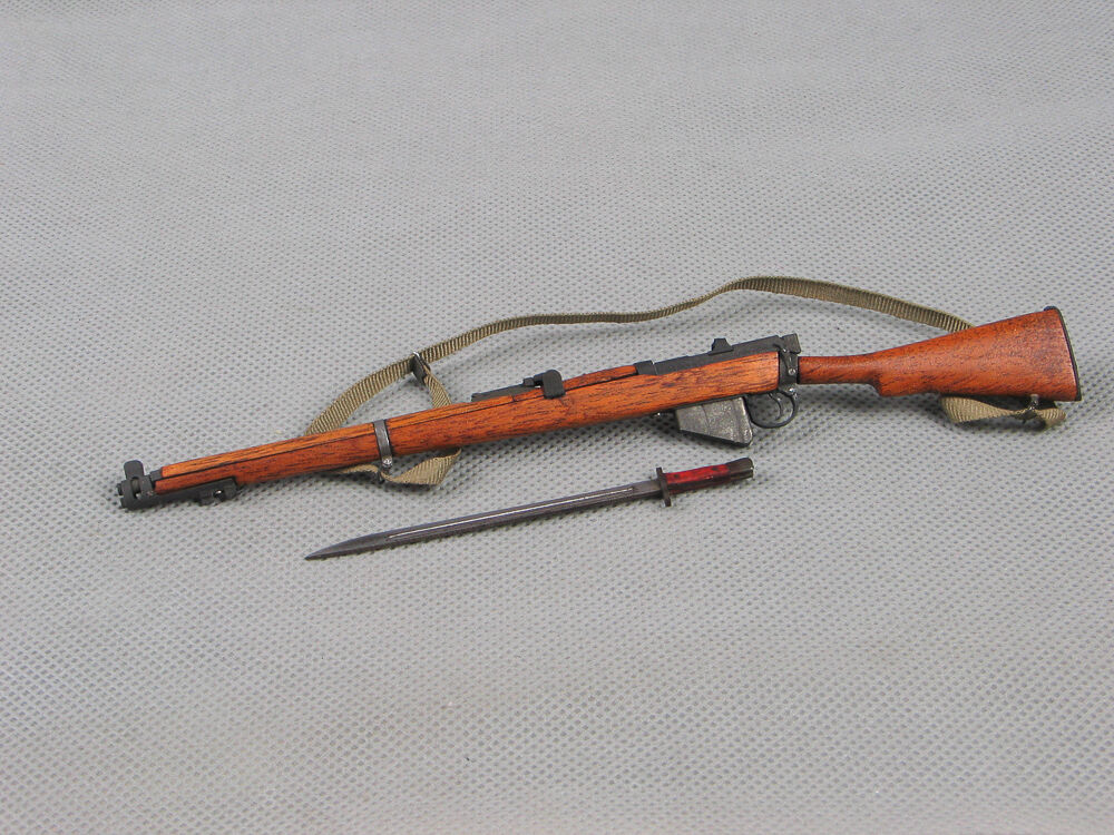 Soldier Story 1 6 Scale Weapon Model WWII Lee Enfield Rifle F 12'' Action Figure