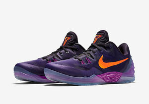huge selection of 9b9a8 910da Image is loading NIKE-Zoom-Kobe-Venomenon-5-Size-12-Purple-