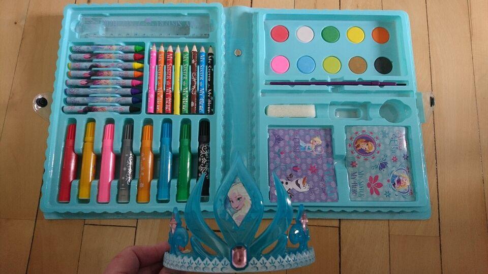 Andet legetøj, Frost malersæt + Elsa hårbøjle, Disney