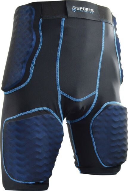 Champro Sports Tri-Flex Adult Men/'s Integrated 5 Pad Football Girdle FPGU6