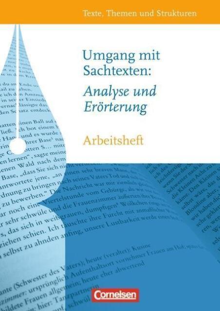 Arbeitsheft für Deutsch Oberstufe des Gymnasiums  Thema: Sachtexte