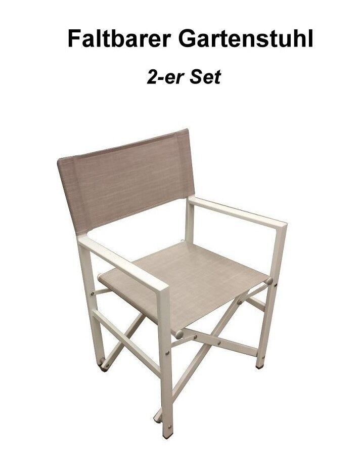Regiestuhl 2-Set faltbarer Regiestuhl 2-Set Regiestuhl Stuhl Campingstuhl Gartenstuhl Neu b809bc