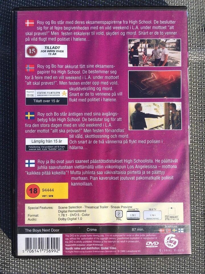 fab1b71ab8a9 ... DVD The Boys Next Door