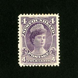Newfoundland-Stamps-84-VF-OG-Hinged-Catalog-Value-42-50