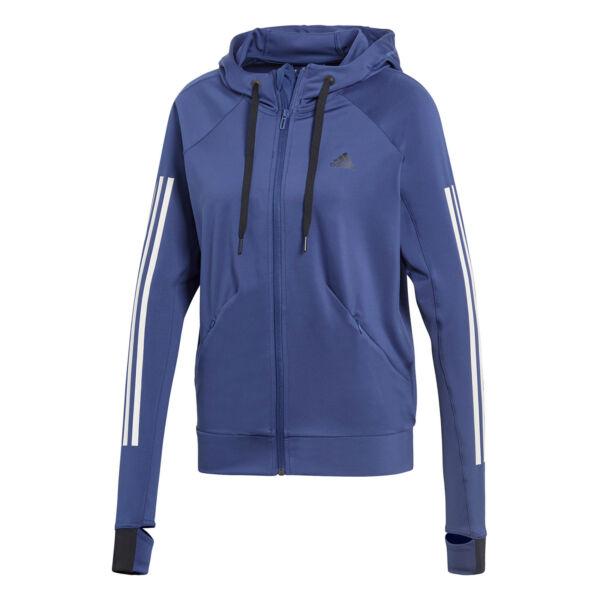 adidas Performance Damen Trainingsjacke Perf FZ Hoody blau (CF3784)