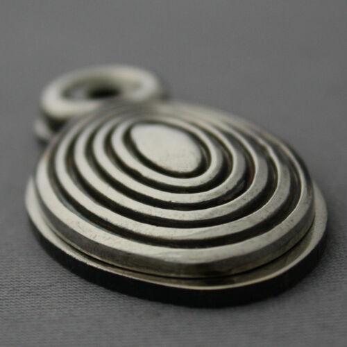 Antique Nickel Ruche Écusson