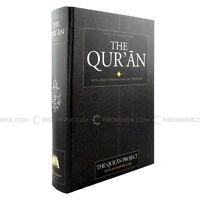 The Qur'an Koran Quran English Translation by the Qur'an Project Hardback 818 p