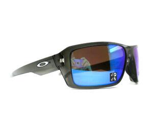 915174883f oo9380-06 66 Oakley Sunglasses Double Edge Grey Smoke Prizm Sapphire ...