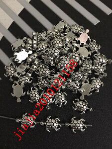 PJ0369-20pc-Retro-Tibetan-Silver-tortoise-Jewelry-Accessories-wholesale