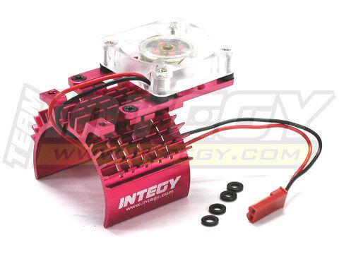 INTEGY RC Car C22470RED Super Motor Heatsink+Cooling Fan 540//550