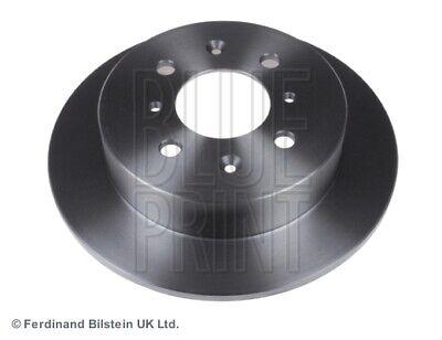 Pair 2x Brake Discs Solid fits HONDA JAZZ Mk2 1.2 Rear 04 to 08 239mm Set New