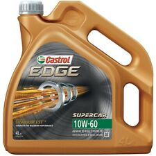 Castrol Edge 10w60 Fully Synthetic 4L + 4L = 8 Litre - BMW Spec Car Engine Oil