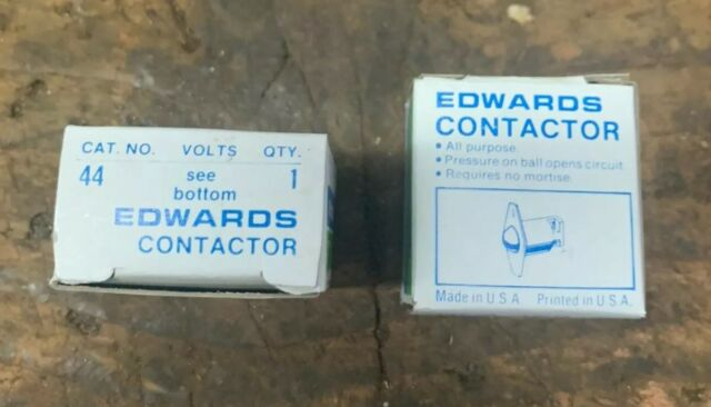 Pair Edwards 44 Roller Ball Contact Switch Door Jamb Low