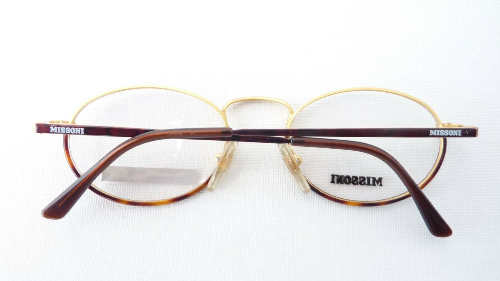 Designer Brille Missoni VintageFassung ovale Form Form Form Metallgestell ausgefallen Gr M  | Sale Outlet  786c80