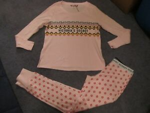 Thermal Pj The Secret Set Nwt rosa Piccolo Victoria's tqFwBPp