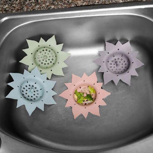 Bathroom Drain Hair Catcher Bath Stopper Plug Sink Strainer Shower Cover 6A