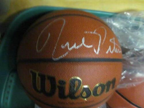 Rick Pitino Kentucky Wildcats/Louisville signed FS Basketball COA