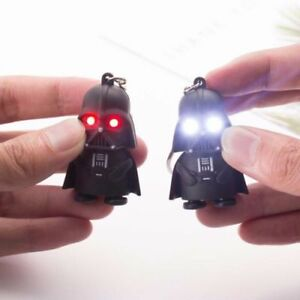 Star-Wars-Darth-Vader-Light-Up-LED-With-Sound-Keyring-Keychain-Key-Chain-Gift-YX