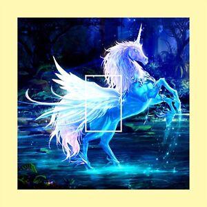 Unicorn Fantasy Light Switch Cover Decal Qualité Vinyle Autocollant-afficher Le Titre D'origine Peut êTre à Plusieurs Reprises Replié.