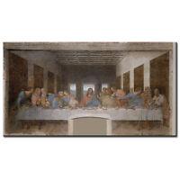 The Last Supper Leonardo da Vinci painting canvas printed christian art Jesus of