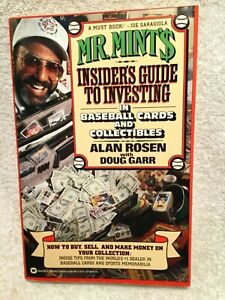 Details About Mr Mints Insiders Guide To Investing In Baseball Cards Signed By Alan Rosen