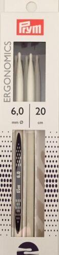 Strumpfstricknadel kunststoff Ergonomics 20 cm Stärken 2,0-8,0 mm Stricknadel