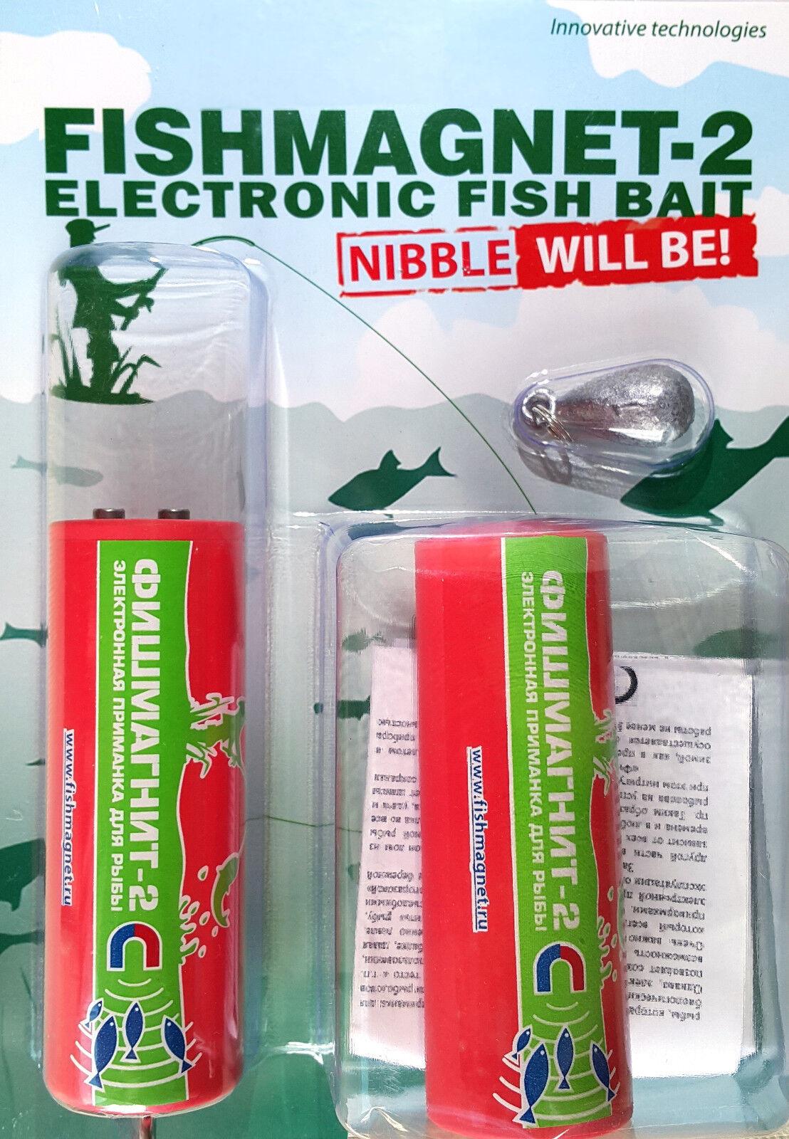 Electronic Fish Bait FishMagnet - 2 Standart-economía - 2x500 peces Atractor
